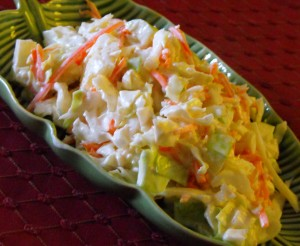 Pineapple Cabbage Cole Slaw