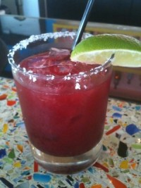 Blackberry Jalapeno Marg