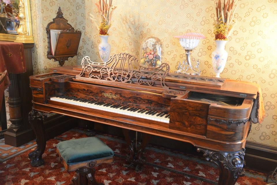 McHenry Mansion Piano