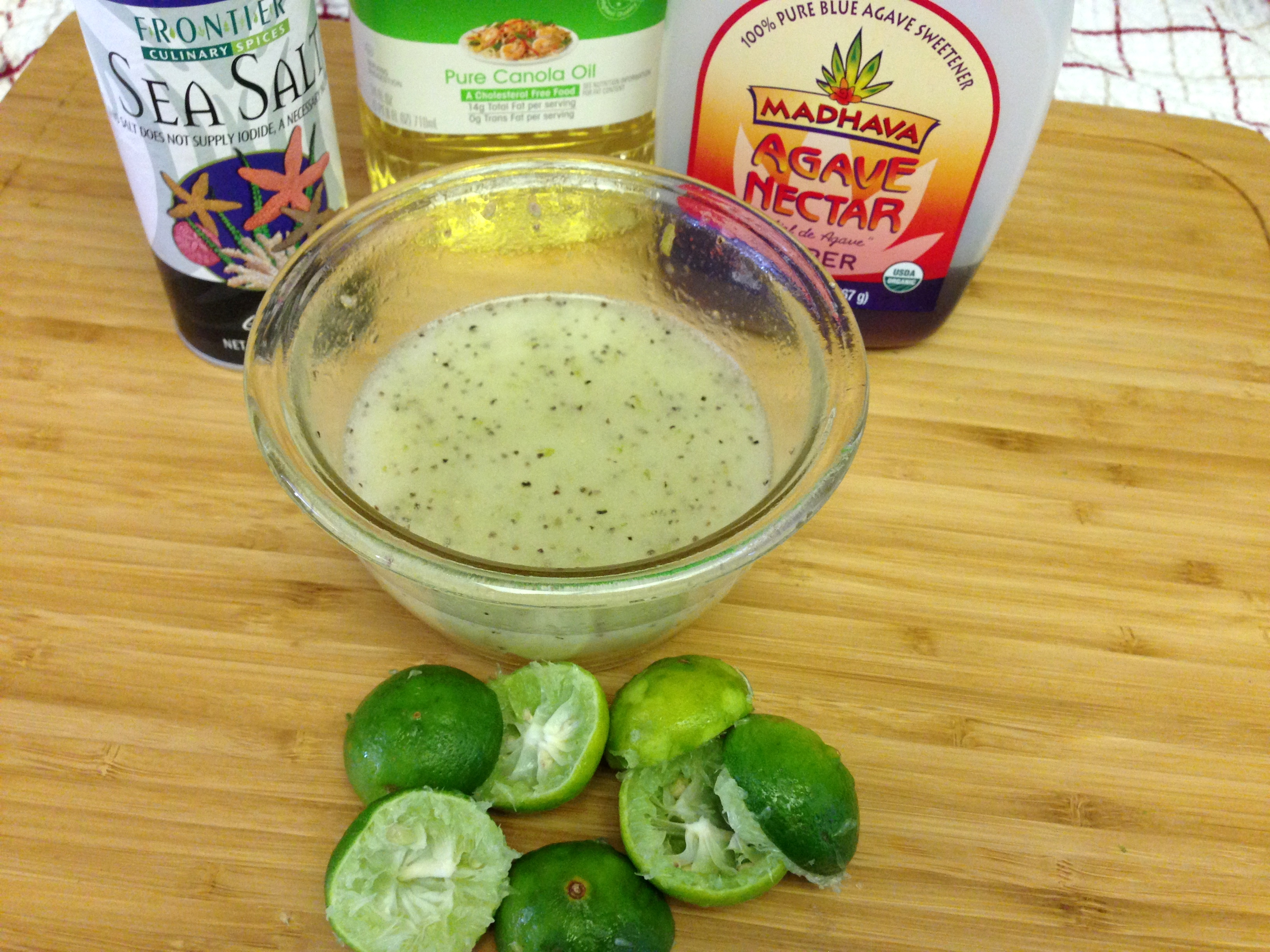 Key Lime Agave Vinaigrette