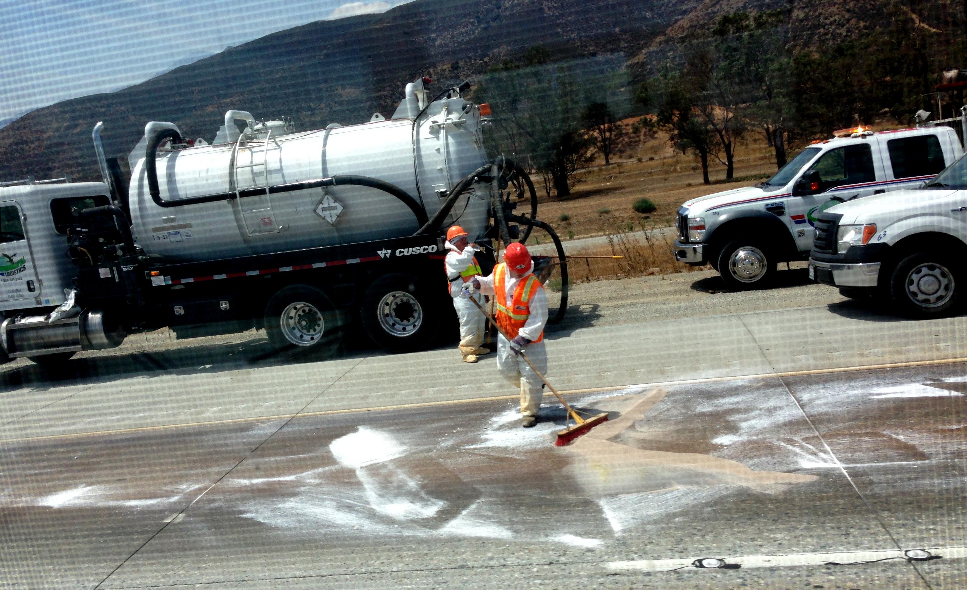 2nd HazMat Spill