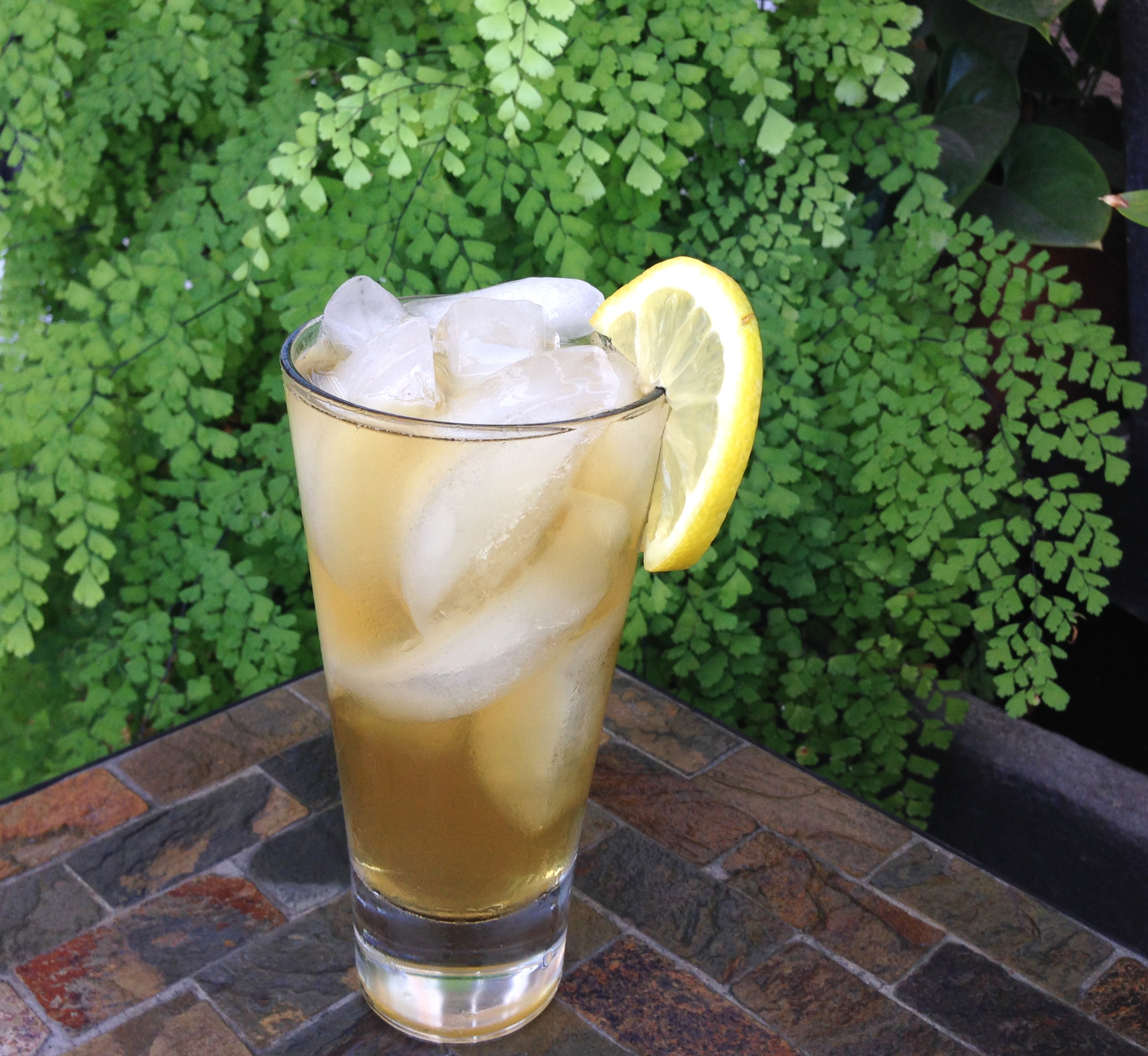 Bergamot bourbon iced tea friday s 5 o clock wet your for California iced tea recipe