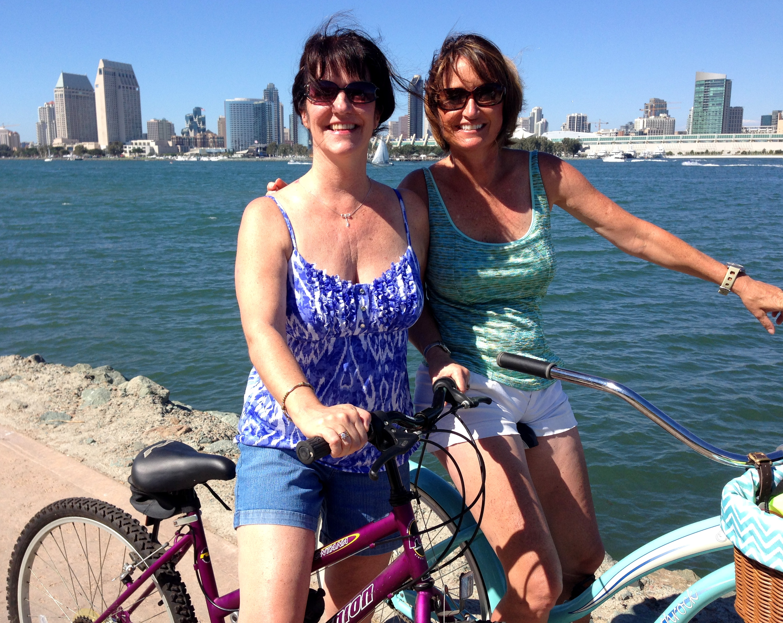 Biking on Coronado