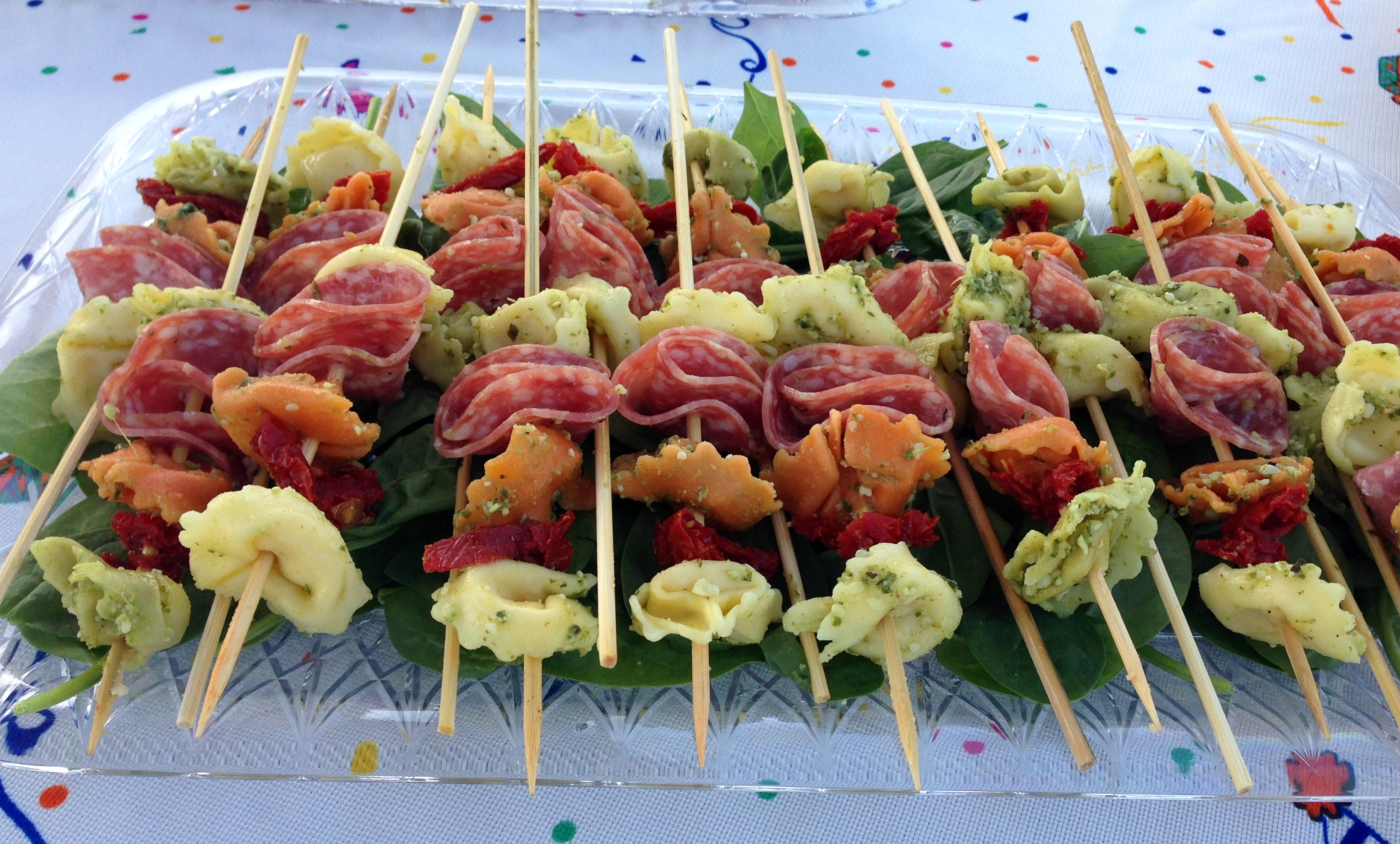 Pesto Tortellini Skewers Life Of The Party Always