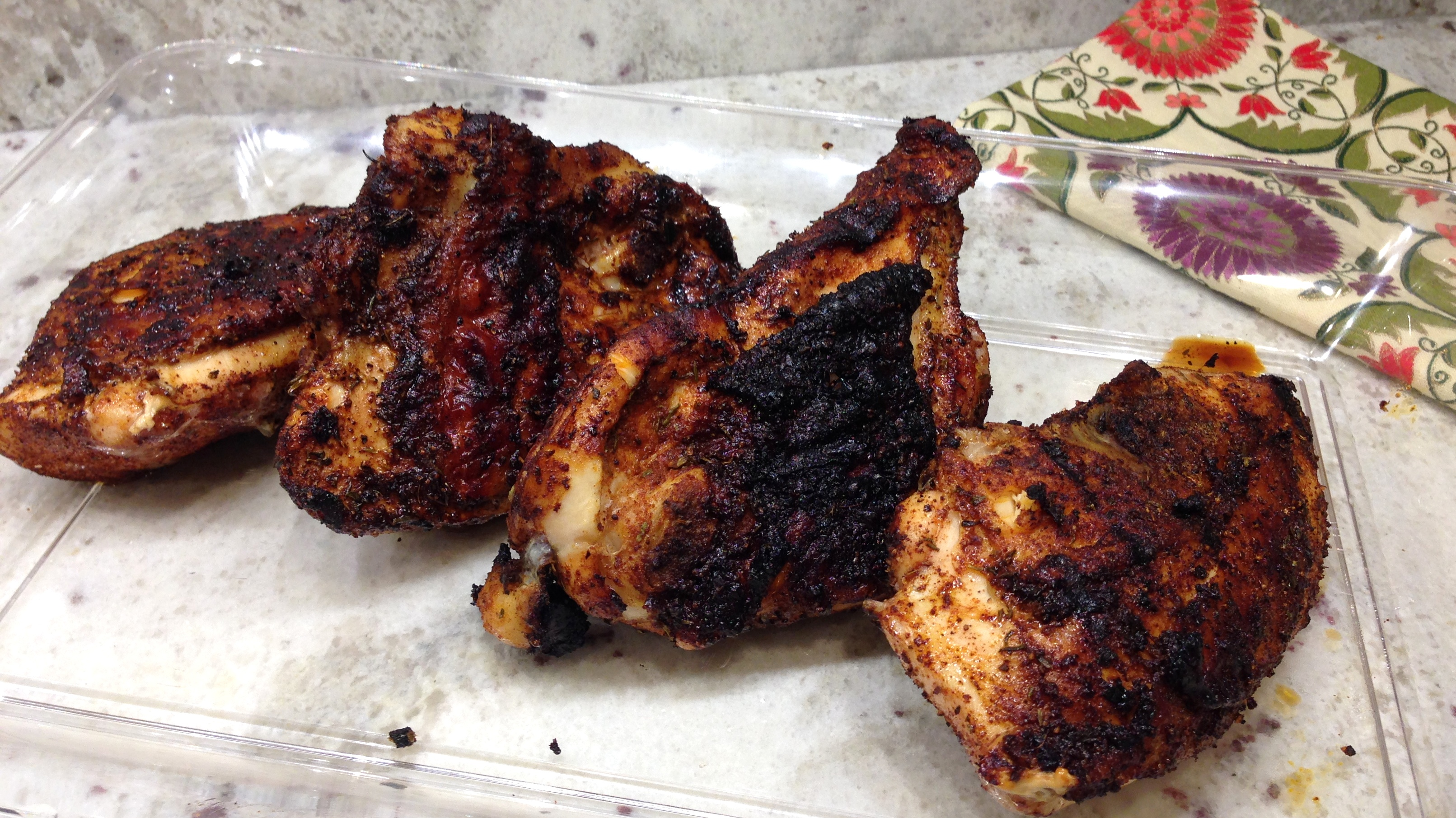Jamaican Jerk Chicken with Cilantro Aioli – Life of the ...