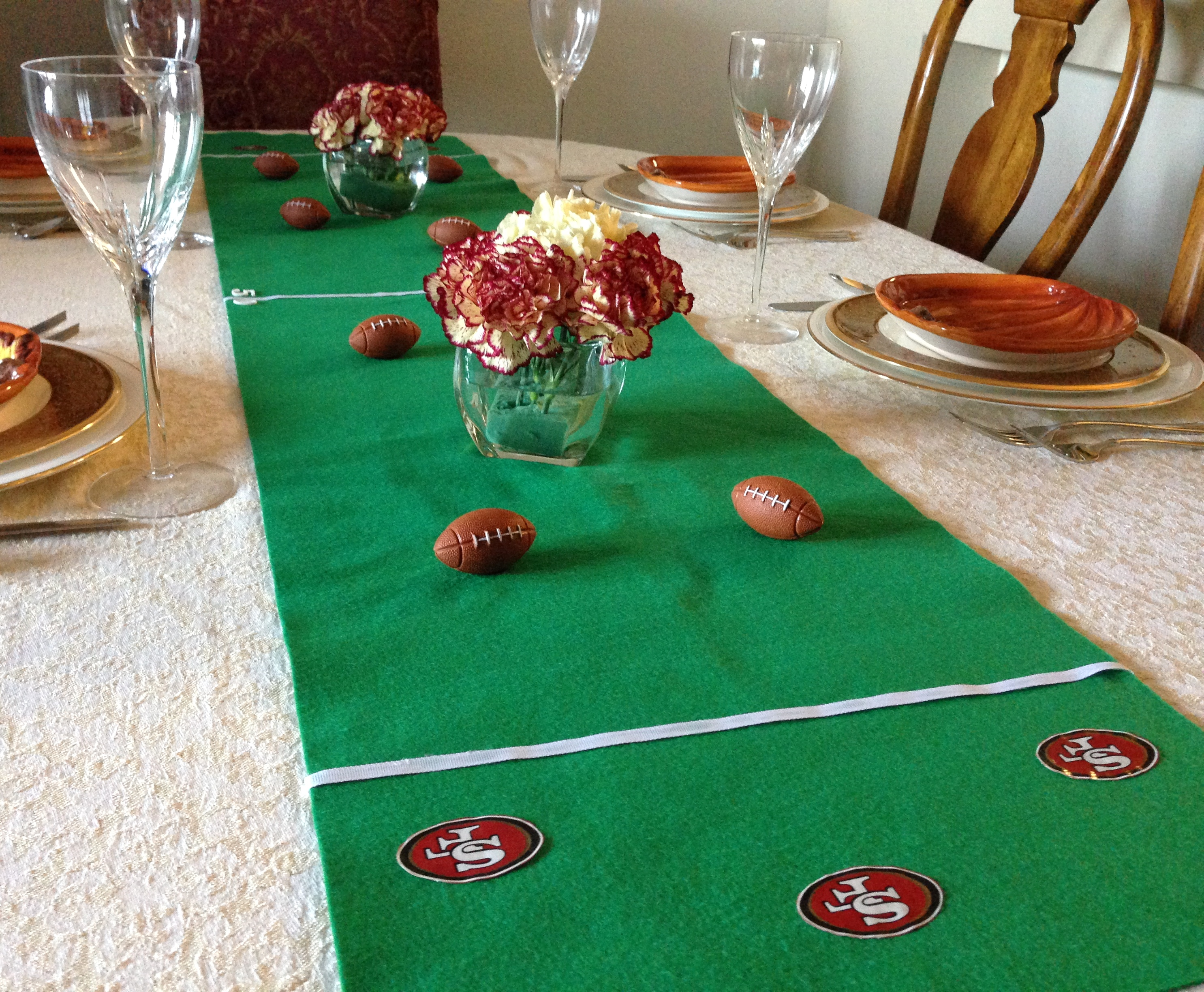 Thanksgiving Football Theme
