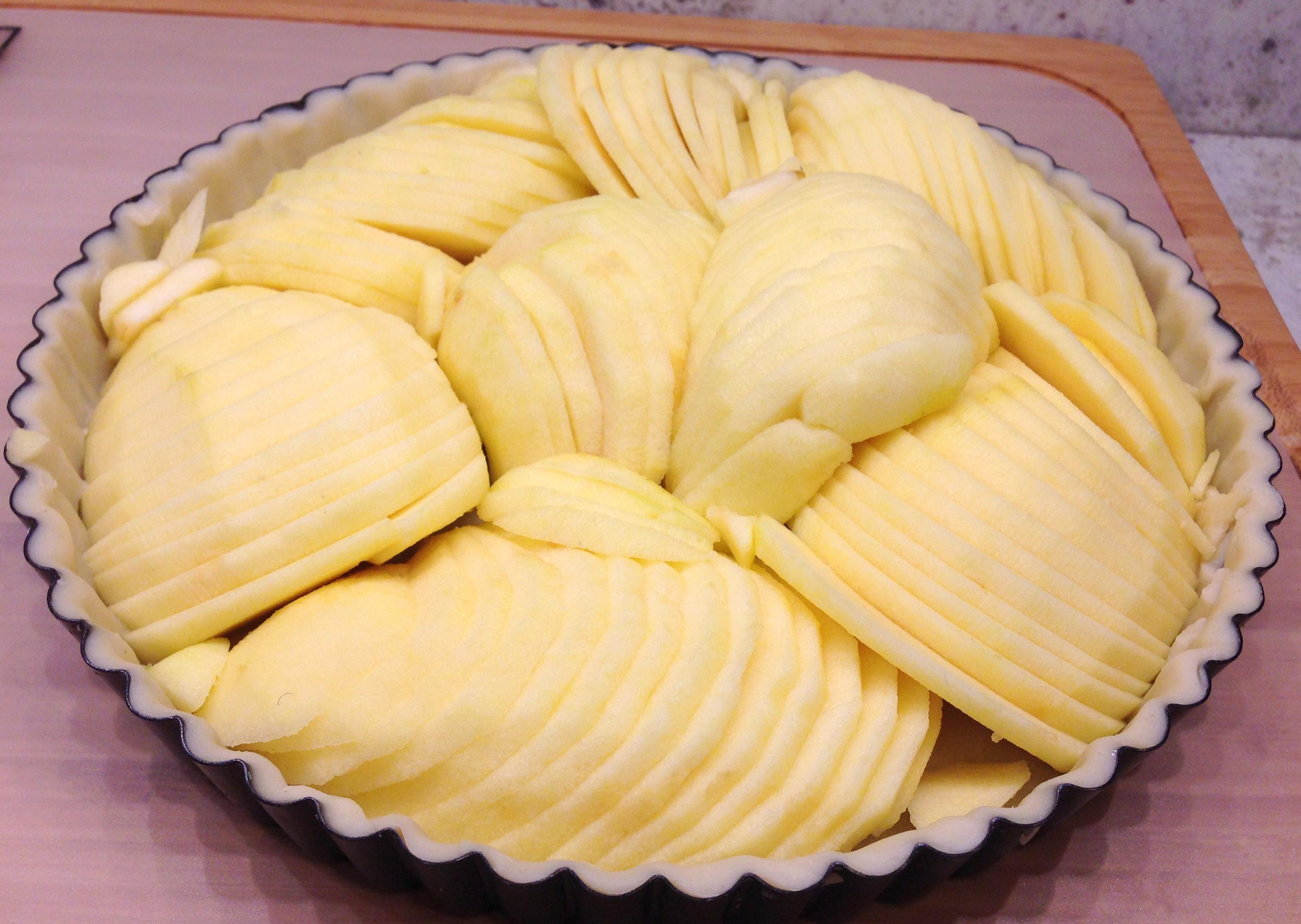 Layer apples