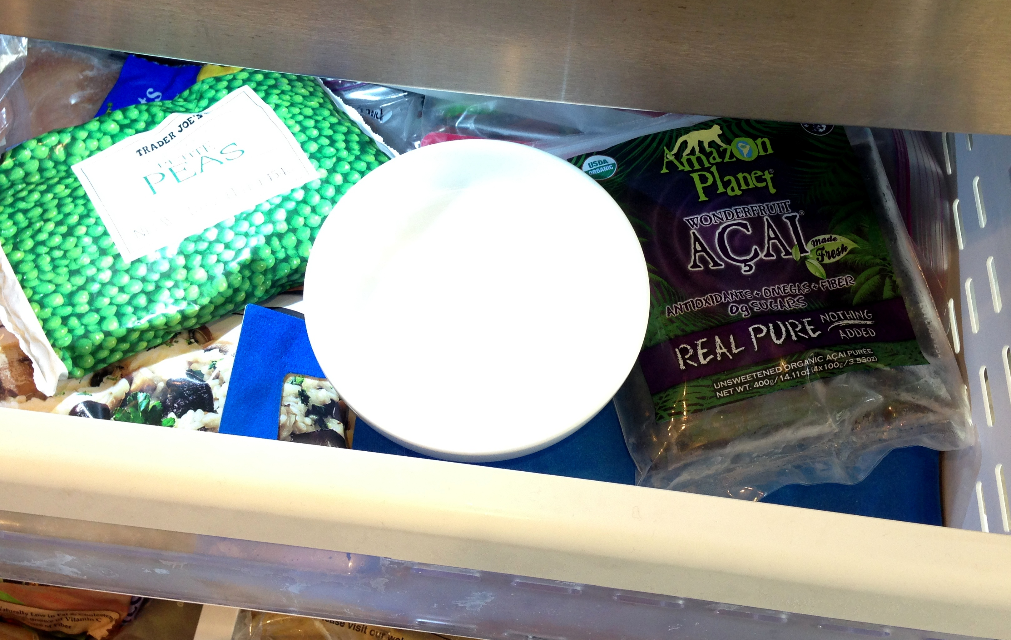 Bowl in Freezer