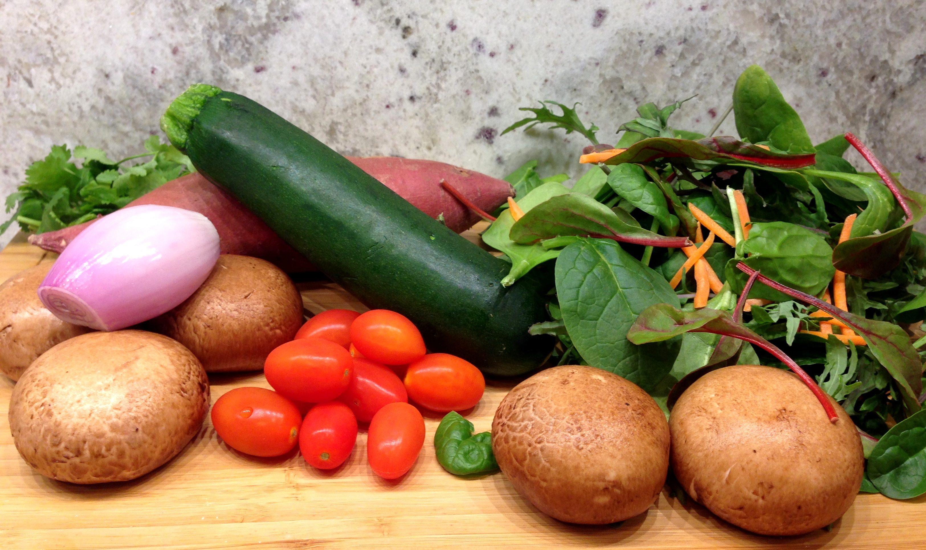 Veggie Hash Ingredients