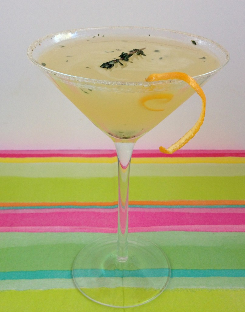 Meyer Thyme Martini