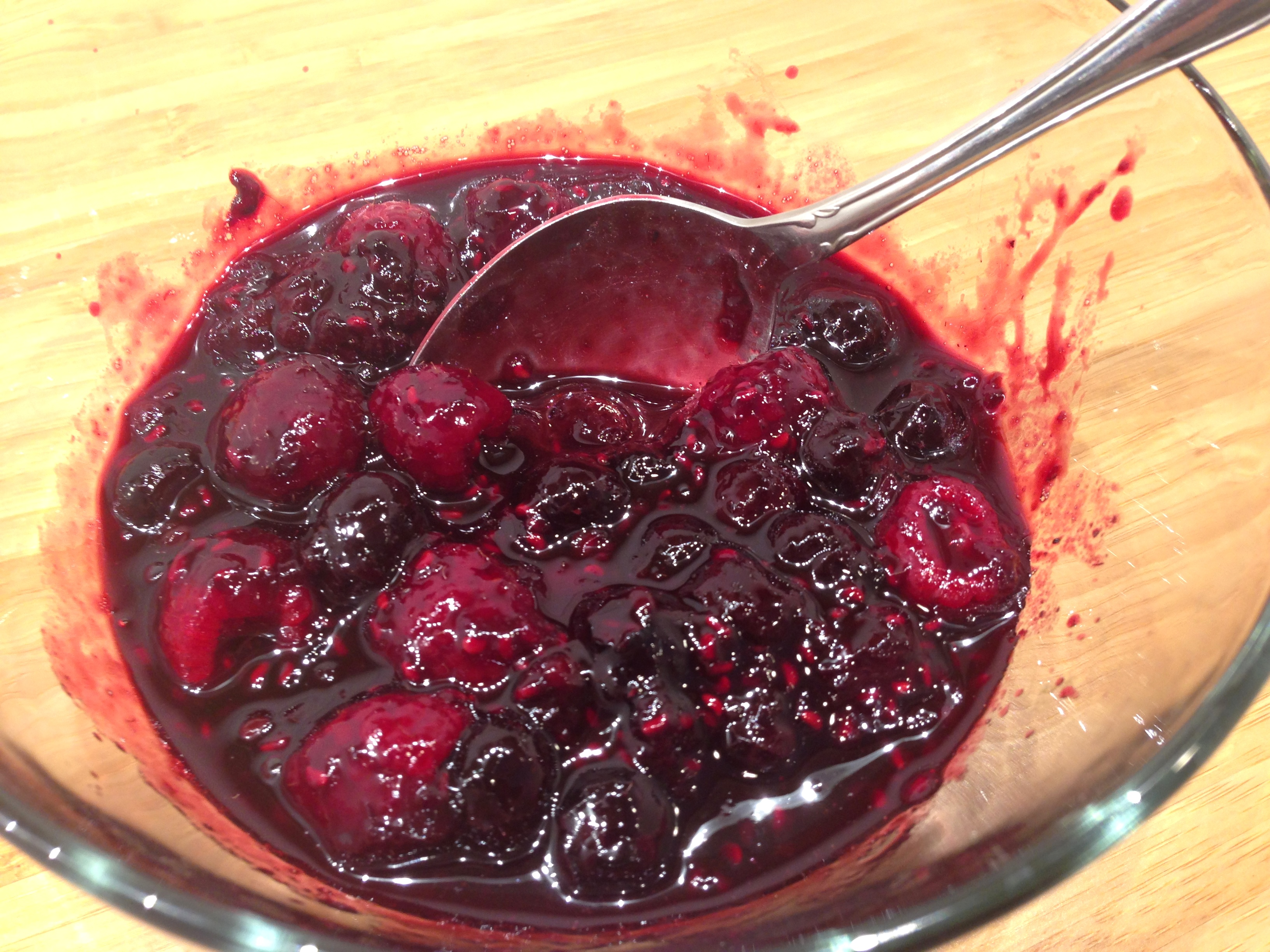 Triple Berry Compote
