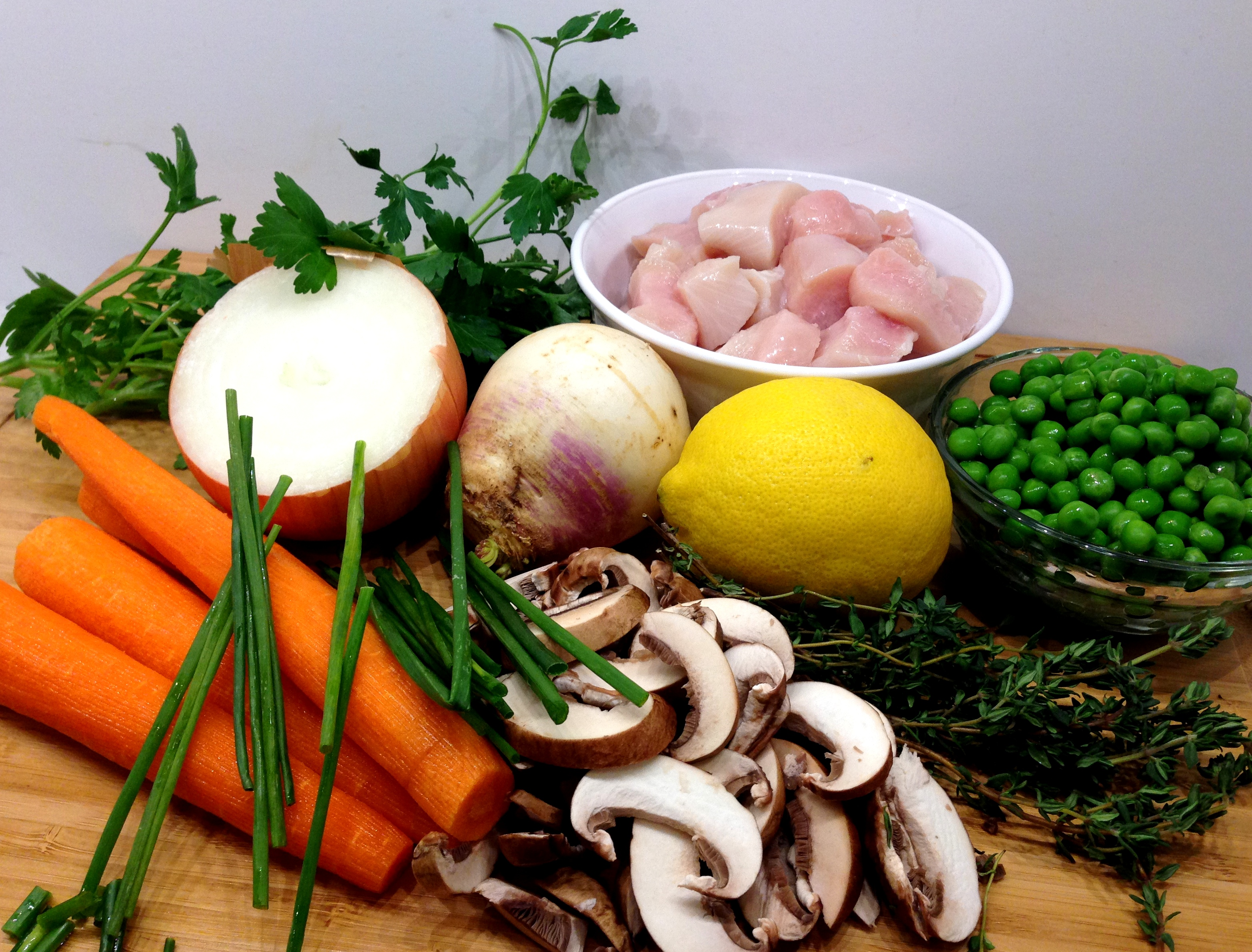 Chicken Pie Ingredients